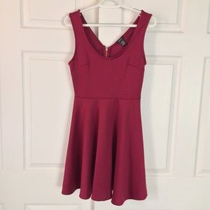Cherry Colored Dress